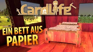Cardlife #03 | Oh wie nett - ein Papierbett | Gameplay German Deutsch thumbnail