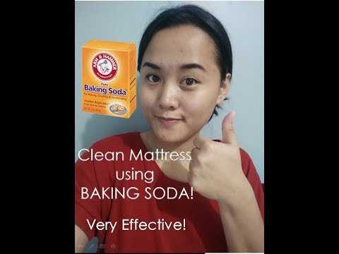 How to Clean A Mattress using BAKING SODA!