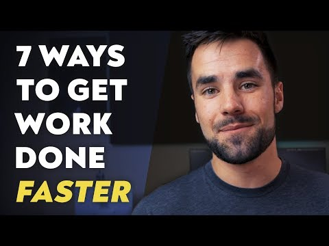 7 Quick Productivity Tips for Getting Work Done Faster