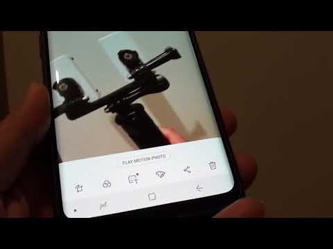 Samsung Galaxy S9 Plus: How to Enable / Disble Camera Live Motion Photo