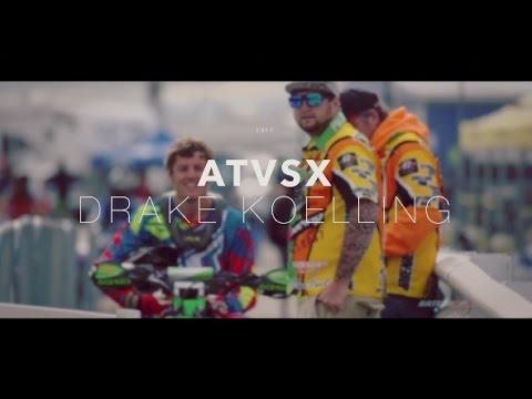 Drake Koelling2017 ATVSX in DaytonaFirst Ever Pro-AM Race