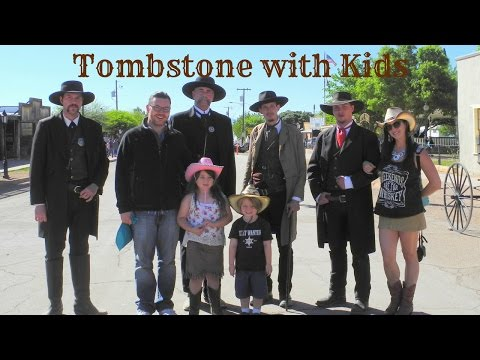 Visiting the REAL Tombstone in Arizona with Kids