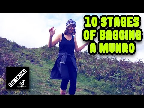 Ten Stages Of Climbing A Munro In Scotland