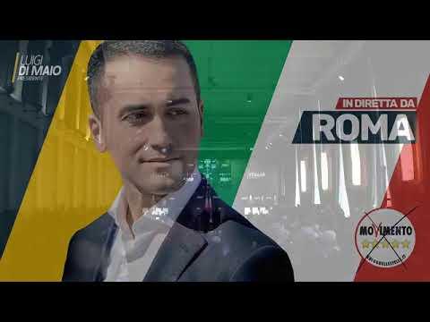 Luigi Di Maio   PRESENTAZIONE DELLA SQUADRA DI  GOVERNO
