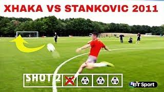 Goals Recreated ft. Arsenal Players Ozil,Cazorla,Xhaka,Wilshere●HD