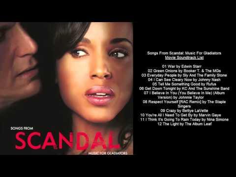 Scandal Movie Soundtrack List