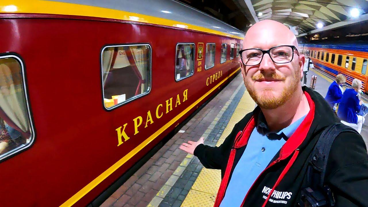 Russia's Most Luxurious Train: The KRASNAYA STRELA