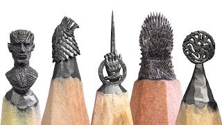 Game of Thrones from a pencil  (trailer)