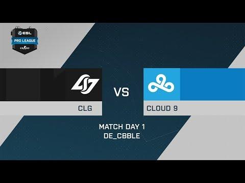 CLG vs C9 - de_cbble[map2] - ESL Pro League Season 6 North America