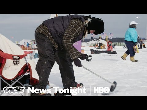 Ice Fishing Extravaganza & Egypt's Revolution: VICE News Tonight Full Episode (HBO)