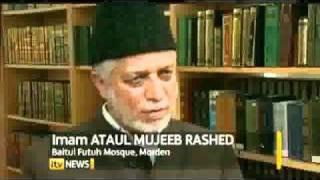 ITV News Ahmadiyya View on Quran Burning