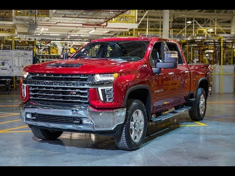 2020 Chevrolet Silverado HD - Big face for Chevy's big pickup truck !!