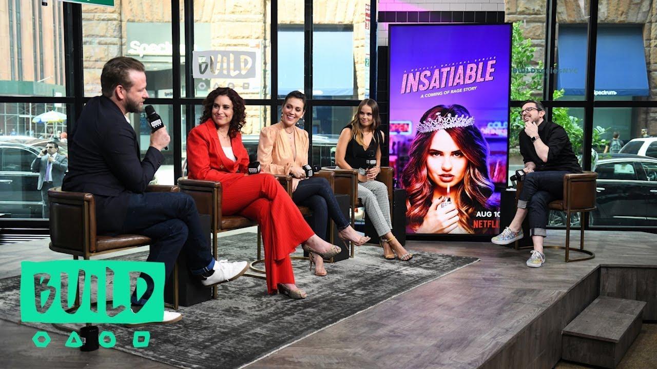 "Download Debby Ryan, Alyssa Milano, Lauren Gussis & Dallas Roberts Chat Netflix's ""Insatiable"""