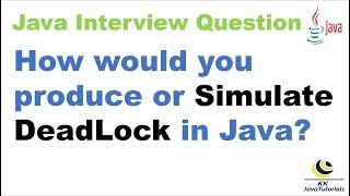Nasıl Java?||in/Taklit Kilitlenme oluşturmak istiyorsunuz Java kilitlenme oluşturmak için bir program yazmak?
