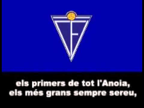Centraldefutbol.org: Himne del C F  Igualada