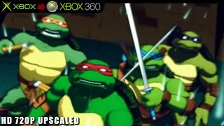 Teenage Mutant Ninja Turtles 3: Mutant Nightmare - Gameplay Xbox HD 720P (Xbox to Xbox 360)
