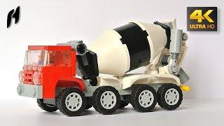 Lego Concrete Mixer Truck (MOC - 4K)