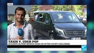 France Taxis Vs Uberpop