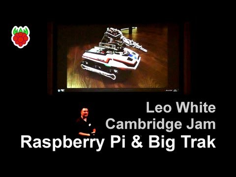 Raspberry Pi and Big Trak - Cambridge Raspberry Jam (Sept 2013)