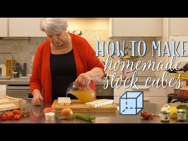 How to Make Homemade Stock Cubes - Mamma Giuliana