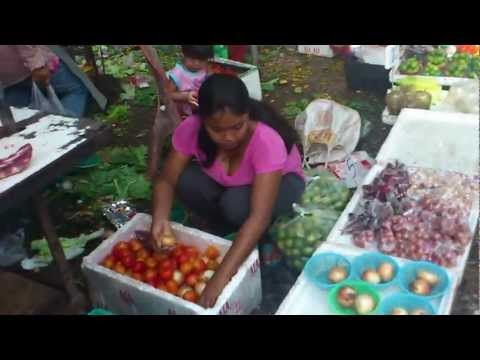 Klong Toey Bangkok Market. June 2012