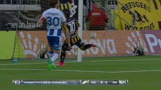 Höjdpunkter: Häcken körde över Blåvitt - bröt långa derbysviten - TV4 Sport