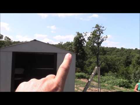 How To: Build a Shed on Posts Part 4 ~ Walls and Roof #simplelife #DIY