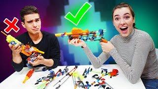 NERF Build Your Robotic Blaster Challenge!