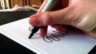 How to Draw a Cute Cartoon Octopus