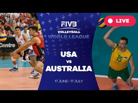 United States v Australia - Group 1: 2016 FIVB Volleyball World League