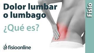 De espalda baja dolor de sintomas