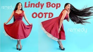 OOTD Lindy Bop Dress + TIPS: Corset & Petticoat (circle skirts)   Lucy's Corsetry