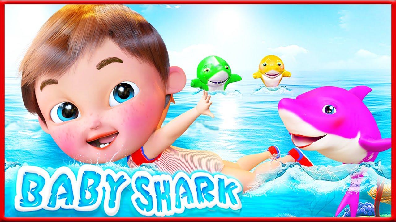 Baby Shark Song , Wheels on the bus   Banana Cartoon - After School Club   Cartoons Kids
