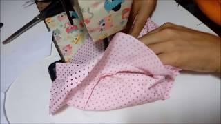 Como fazer chapeuzinho para bebe unissex de 8 meses a 1 ano
