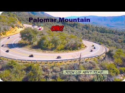 Palomar Mountain Motorcycles + Drone