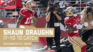 Colin Kaepernick Fires to Shaun Draughn for a 17-Yard TD! | Buccaneers vs. 49ers | NFL