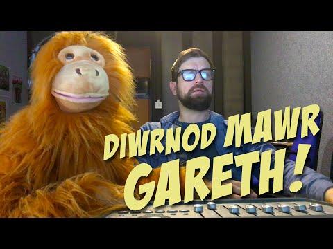 Diwrnod Mawr Gareth!