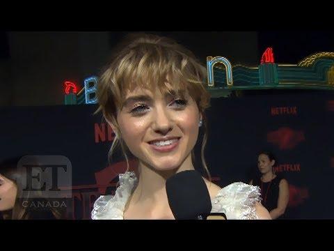 'Stranger Things' Season Two Red Carpet: Millie Bobby Brown, Natalia Dyer