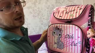 Поясная сумка и школьный ранец (рюкзак) из Китая. Анбоксинг и обзор. Астраханский блогер.