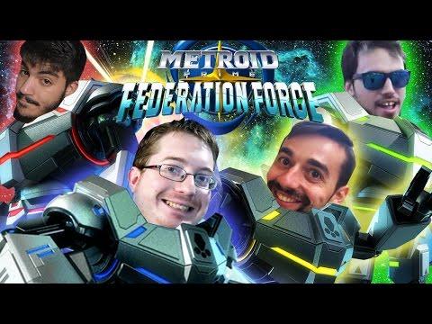 ¡¡¡EL PEOR EQUIPO DE MARINES DE LA HISTORIA!!! - Metroid Prime Federation Force