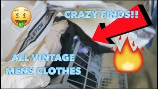 CART FULL OF VINTAGE FROM ONE THRIFT STORE!!!