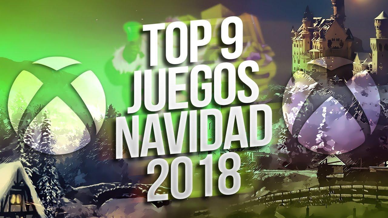 Top 9 Mejores Juegos Para Navidad 2018 Xbox One Youtube