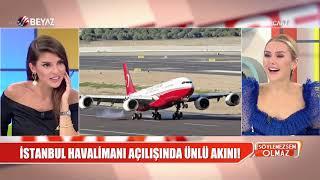 İstanbul Havalimanı'nın açılışında Oktay Kaynarca'dan Binali Yıldırım'ı şaşırtan hata
