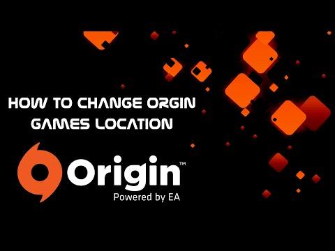 How To Change Origin Games Installation Directory