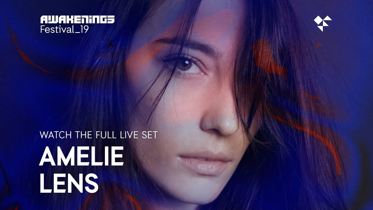 Awakenings Festival 2019 Sunday Live Set Amelie Lens Area Y Youtube