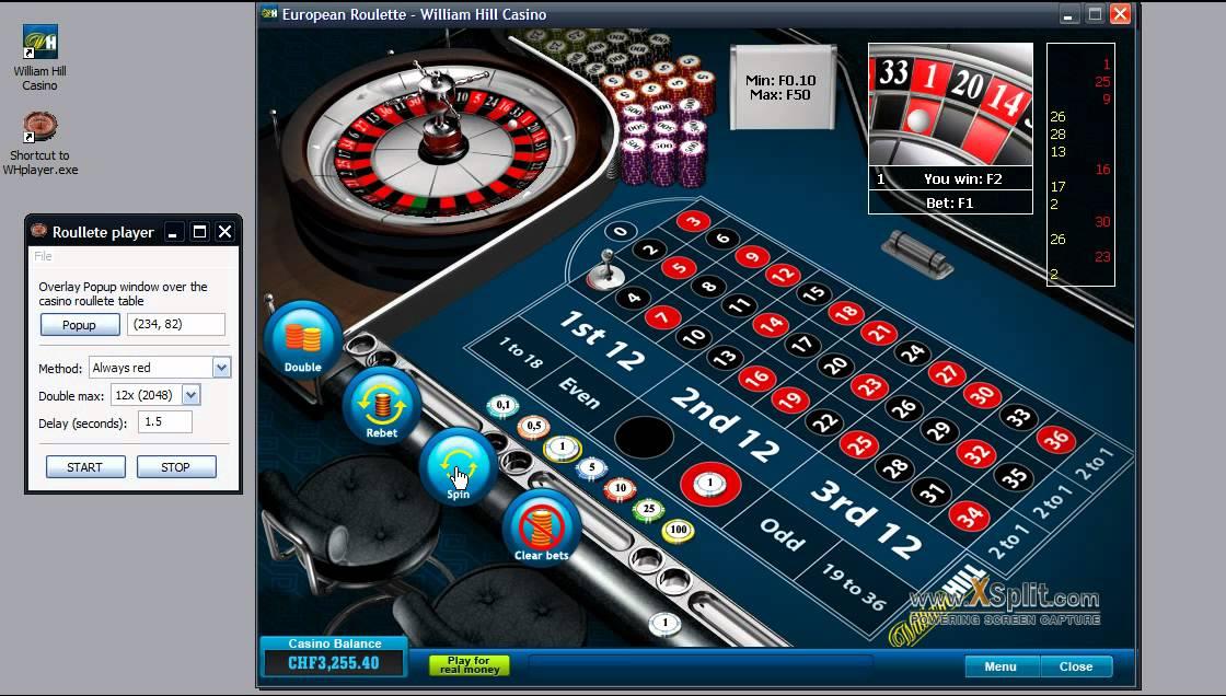 официальный сайт william hill casino европейская рулетка