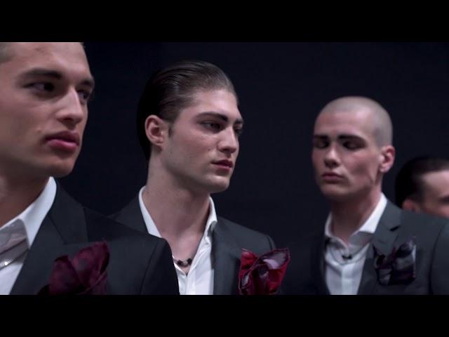 Emporio Armani Men's Fall Winter 2018-19 Fashion Show - Backstage