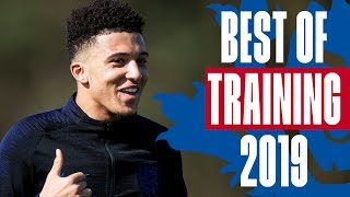 CHEEKY Sancho Panenka, Bronze Worldie & Sterling's on Fire! Best of Shooting Training 2019 | England