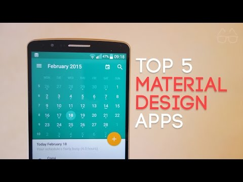 Top 5 Material Design Apps (2015)