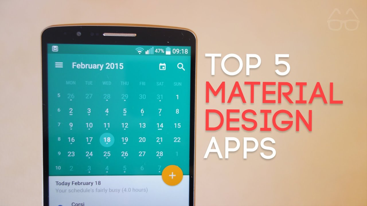 Top 5 Material Design Apps 2015 Youtube